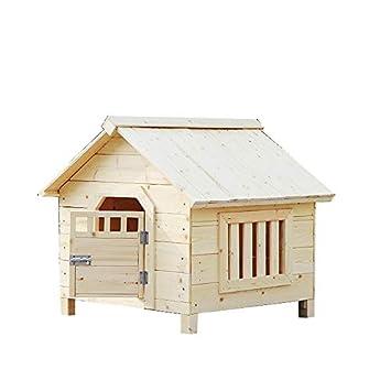 Casa de mascotas, casa de Madera sólida, Gato, Perro, casa, Interior