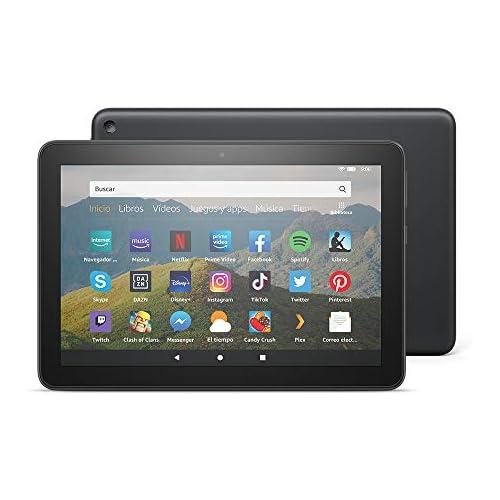 chollos oferta descuentos barato Tablet Fire HD 8 pantalla HD de 8 pulgadas 32 GB Negro Con publicidad