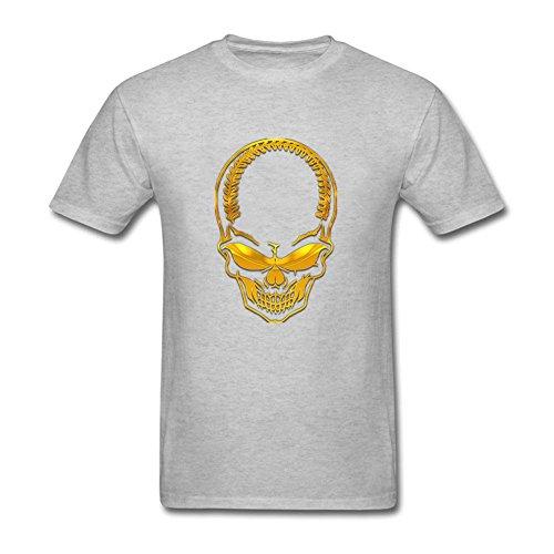grey-horrible-skull-men-fashion-short-sleeve-brand-new-tshirt-l