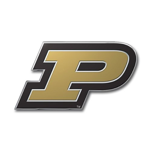 NCAA Purdue Boilermakers Die Cut Color Auto Emblem (Gear Purdue Boilermakers)