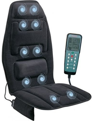 Massage Seat Cushion Car Chair Massager Lumbar Neck Pad - Minneapolis Shops Airport