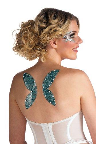 Angel Wings Glitter Tattoo (Rubies Fairy Wings  Glitter Tattoo)