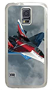 Samsung Galaxy S5 Fighter Jets 2 PC Custom Samsung Galaxy S5 Case Cover Transparent