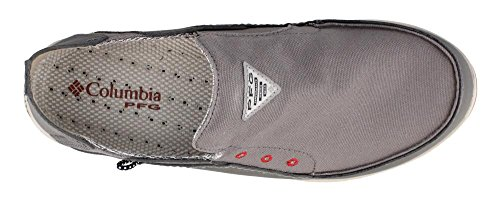 Columbia Men s PFG de ventilación Bahama Slip-On zapatos de barco Gris (City Grey Gypsy)