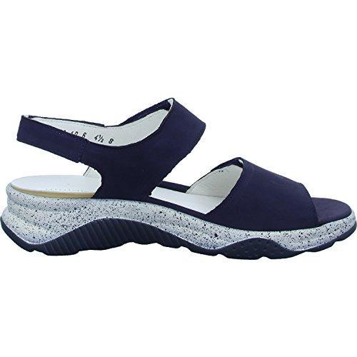 Bleu Bleu 200 936001 Sandalettes Waldläufer Blue Femmes blue 162 aq8Bwf