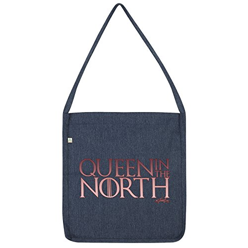 Queen Bag Twisted Tote North The Envy Navy In 75qqx8Uv