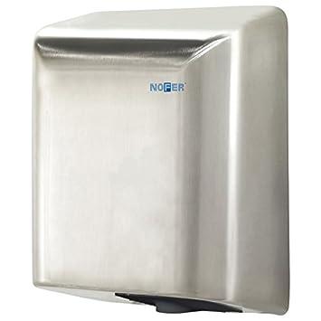 Nofer 01851.s Fuga secador de Manos con Sensor electrónico Inoxidable Satinado Plata 35 x 27 x 17 cm: Amazon.es: Hogar