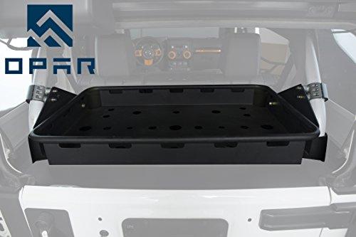 Opar Jeep JK Interior Cargo Rack for 2007-2018 Jeep Wrangler & Wrangler Unlimited (4 Door)