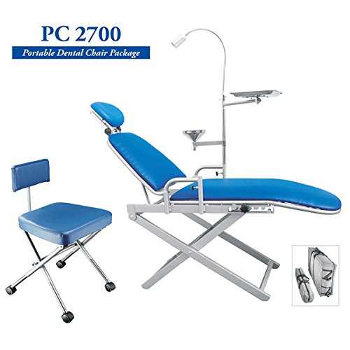 TPC Portable Dental Chair Package (Include Chair, Stool, Light, Tray & Carrying Bags)