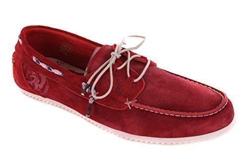 Diesel para hombre Mocasines zapatos antideslizantes zapatos zapatos zapatos rojo f53fe1