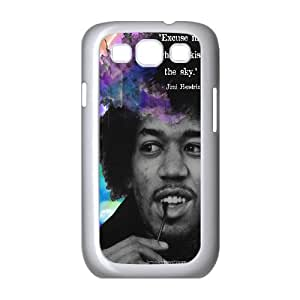 Custom Case Guitar player jimi hendrix poster phone Case Cove For Samsung Galaxy S3 JWH9216662