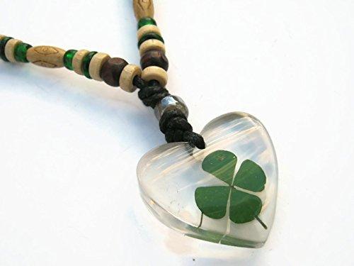 pressed leaf necklace - 3