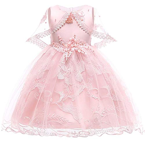 Girl Dress Party Birthday Wedding Princess Toddler Baby Girls Christmas Dresses,pink2,9]()