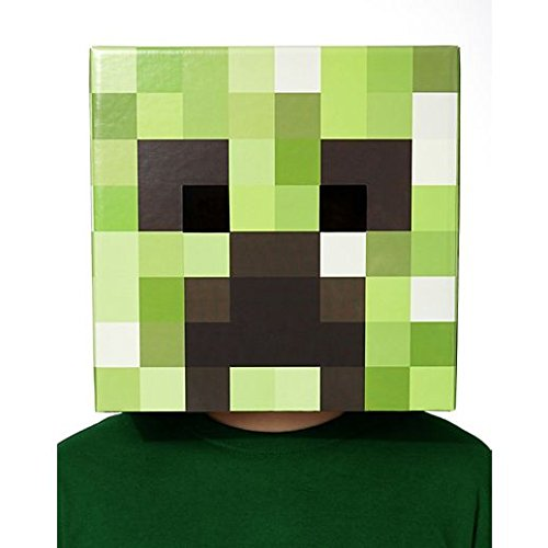 Costume Beautiful Cardboard Creeper Head -