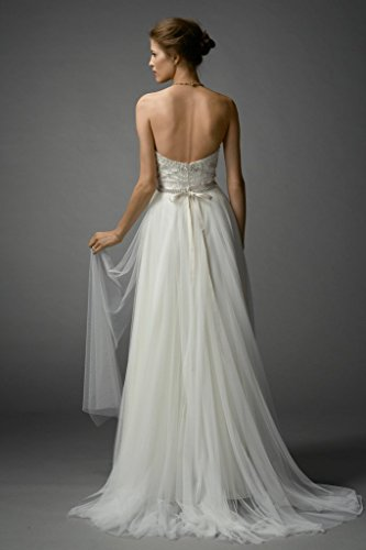 Dresses 2016 reg; Wedding Beading Wedding White Sweetheart Gowns Bodice Bridal Aurora tx6AP4wqf
