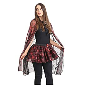 - 41Ne3NeHLiL - MA ONLINE Ladies Halloween Spider Web Costume Womens Night Out Fancy Dress Party Outfit