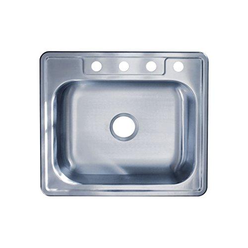 Best Stainless Steel Sinks Gauge : ... Top Mount Single Bowl 22 Gauge, 304 Stainless Steel Kitchen Sink, N/A