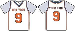Ambientador De Coche Personalizado NEW YORK KNICKS BASKETBALL SHIRT