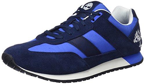 Timberland Lufkin Jogger, Scarpe Stringate Oxford Uomo Blu (Black Iris Suede 019)