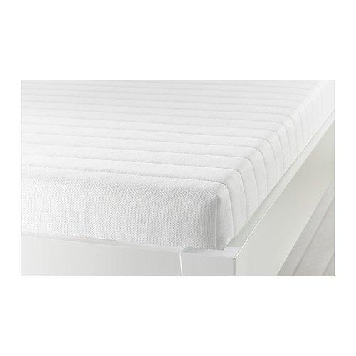 Ikea MEISTERVIK Foam mattress (queen size), firm, white 228.11214.2634