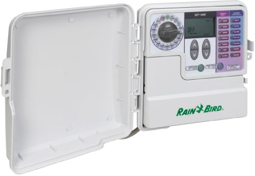 Rain Bird SST1200O Simple To Set Indoor/Outdoor Timer, 12-Zone - Rain Bird Irrigation Timer