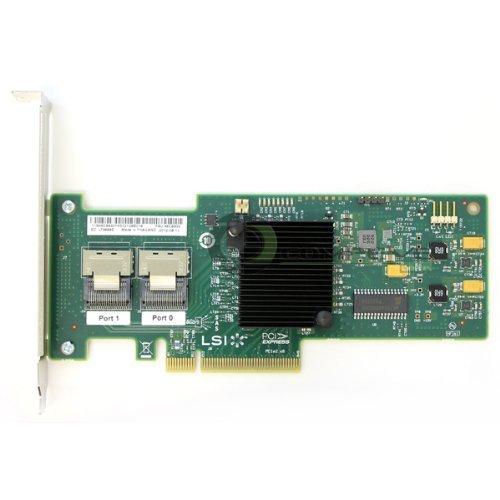 IBM M1015 ServeRaid LSI SAS9220-8i PCI-Express PCIe 8-port 6Gb/s SAS+SATA Controller with RAID 0,1 Support Full Height Bracket 46C8933