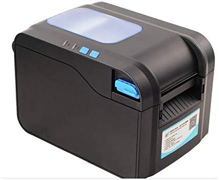 DZSF Impresora de código de Barras de Etiquetas Impresora térmica de Recibos o Etiquetas Impresora de código de Barras térmica de 20 mm a 80 mm Impresora automática de código QR: Amazon.es: