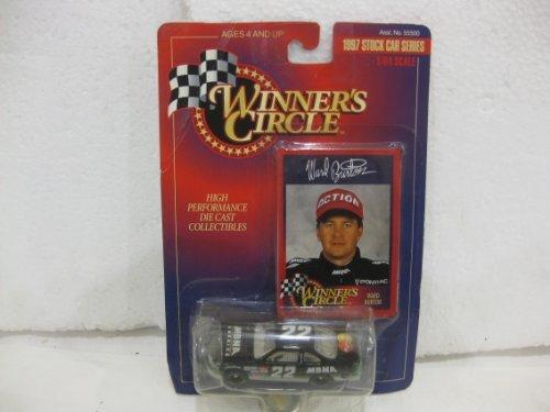 (Ward Burton #22 MBNA Pontiac Grand Prix Nascar In Black Diecast 1:64 Scale 1997 Stock Car Series By Winner's Circle)