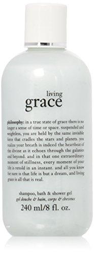 Philosophy Shampoo, Bath & Shower Gel 240 ml/8 fl oz (Living Grace)  (Philosophy Living Grace Shampoo Bath And Shower Gel)