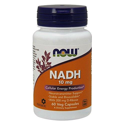 NOW NADH 10 Veg Capsules