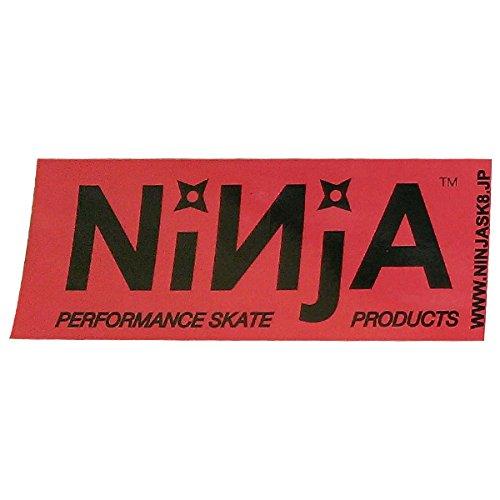NINJA ステッカー NINJA 大 ブラック(玉野辰磨カラー)