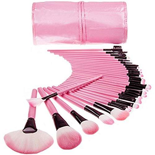 MACPLUS Professional Makeup Brush Set 32 Pcs, Makeup Brushes for Women & Girls, Eyeliner, Eye Shadow, Eye Brow, Premium…