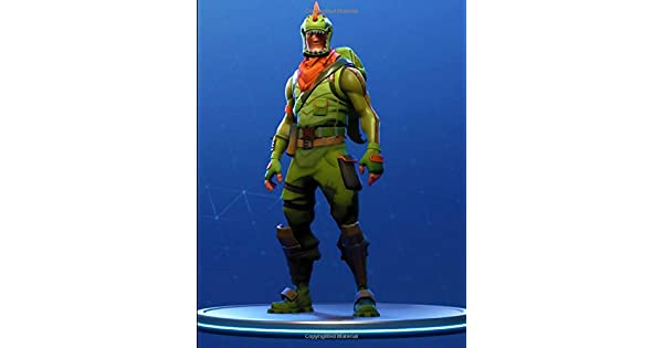 Amazon.com: Fortnite - Rex Ready For Action Notebook: Wide ...