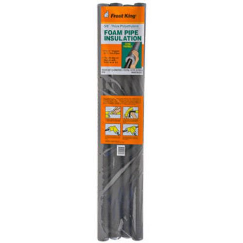Thermwell Products P10 Foam Insulation, 3-Feet, 4-Pack (Copper Pipe Insulation)
