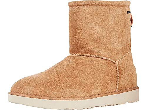UGG Men's Classic Toggle Waterproof Winter Boot, Chestnut, 7 M US