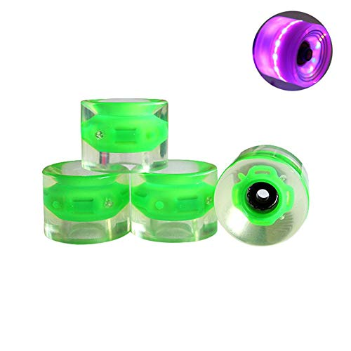FONLAM Practical Inline Roller Skate Wheels Premium Rollerblade Durable Wheel Set With Bearings For 70mm
