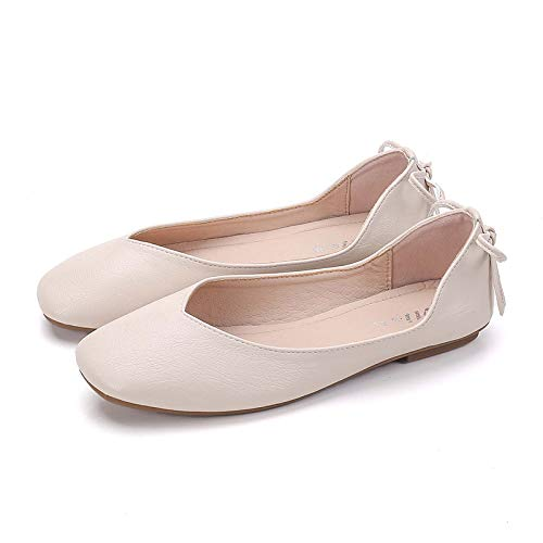 autumn non shoes casual flat ladies Spring fashion shoes and comfortable A single shoes work FLYRCX office shoes slip Cnq0EOwXwx