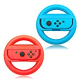 Joy-Con Wheel for Nintendo Switch,Nintendo Switch Controllers (Set of 2) - Blue and Red