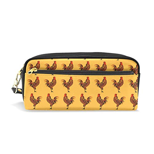 Yellow Rooster Art SignConvenient small cosmetic bag, stylish casual style, suitable for all occasions, travel essentials. -