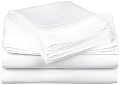 USHA BEDDING'S Luxury Soft Egyptian Cotton 500 Thread Count 4-Piece Sheet Set