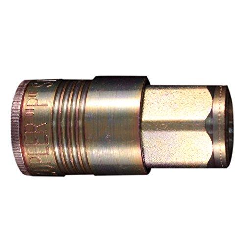 """Abco Milton 1805 3/8"""" FNPT P Style Coupler - Box of 5"""
