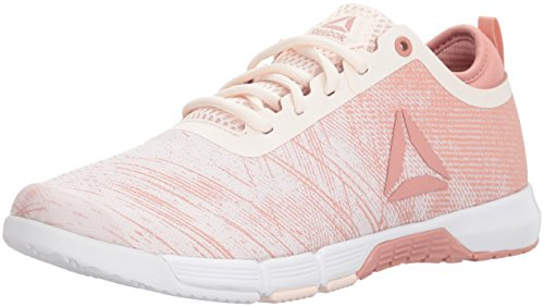 Reebok Women's Speed Her Tr Cross Trainer Pale Pink/Chalk Pink/White/Silver