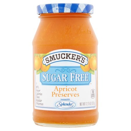 Smuckers Apricot Preserves - Smucker's Sugar Free, Apricot Preserves, 12.75 Ounce (Pack of 4)
