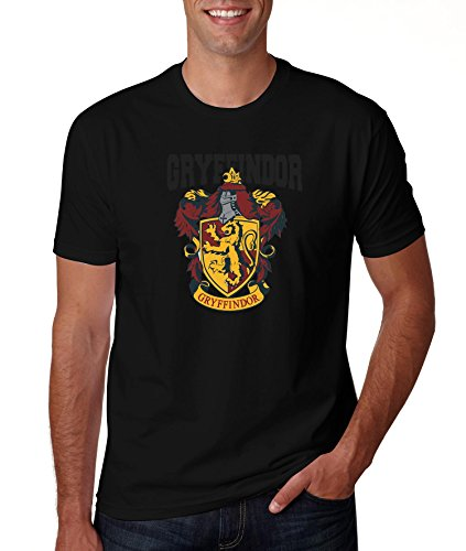 Black Gryffindor Logo Harry Potter T Shirt S