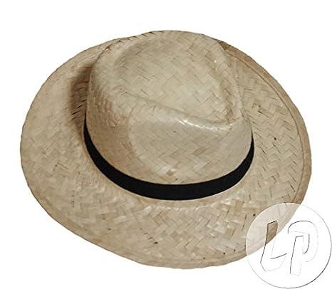Lotto Set di 3 pezzi - cappello di paglia con Granby fascia nera chiara  natura 0ecf83a4d4f6