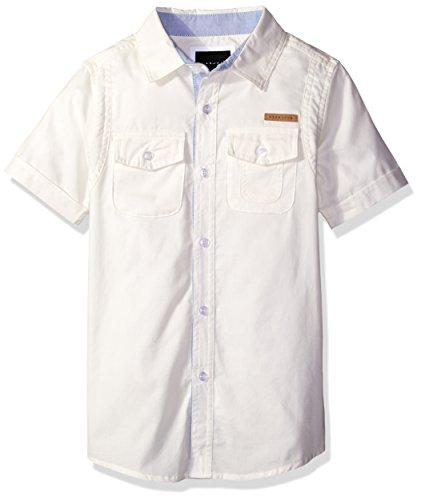 White Utility Shirt - 7