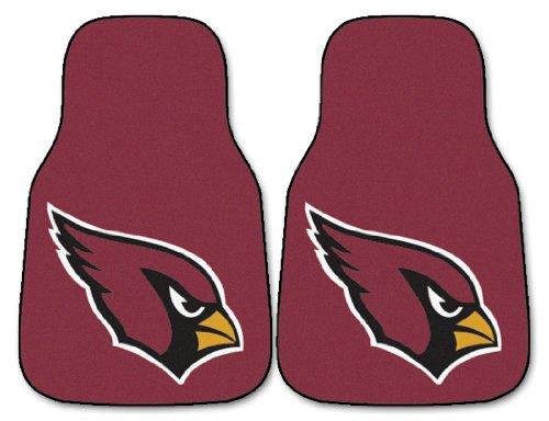 - Fanmats Arizona Cardinals Team 2 Piece Car Mats