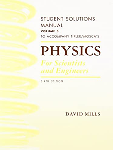 Physics for science and engineers solution manual 6th edition solution array amazon com physics for scientists and engineers student solutions rh amazon com fandeluxe Choice Image
