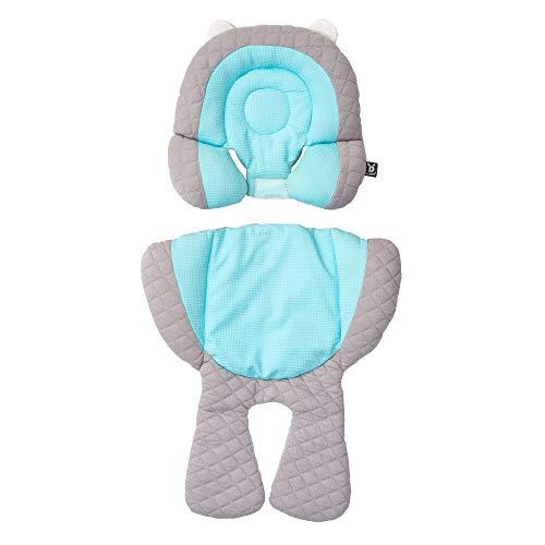 Amazon.com: Cabeza de bebé y soporte para el cuerpo, gris ...