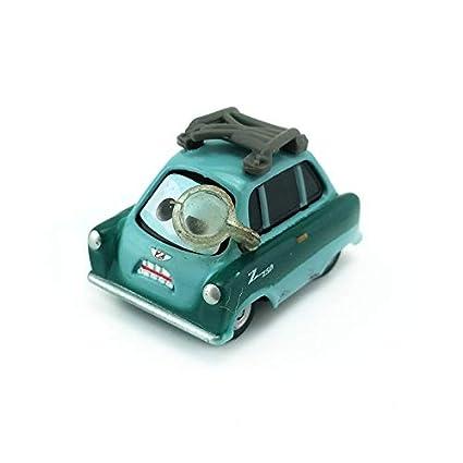 Disney Pixar Cars 3 Miss Fritter /& Miles Axlerod Dieca Toy 1:55 New